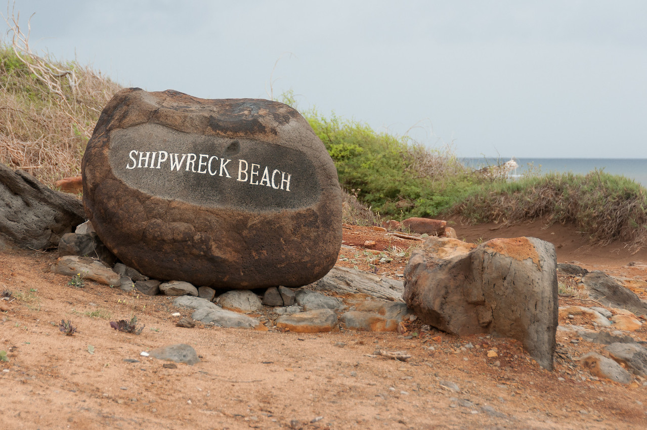 Shipwreck Beach in Lanai, Hawaii