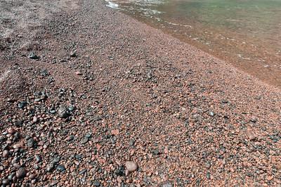 Red sand beach in Maui, Hawaii