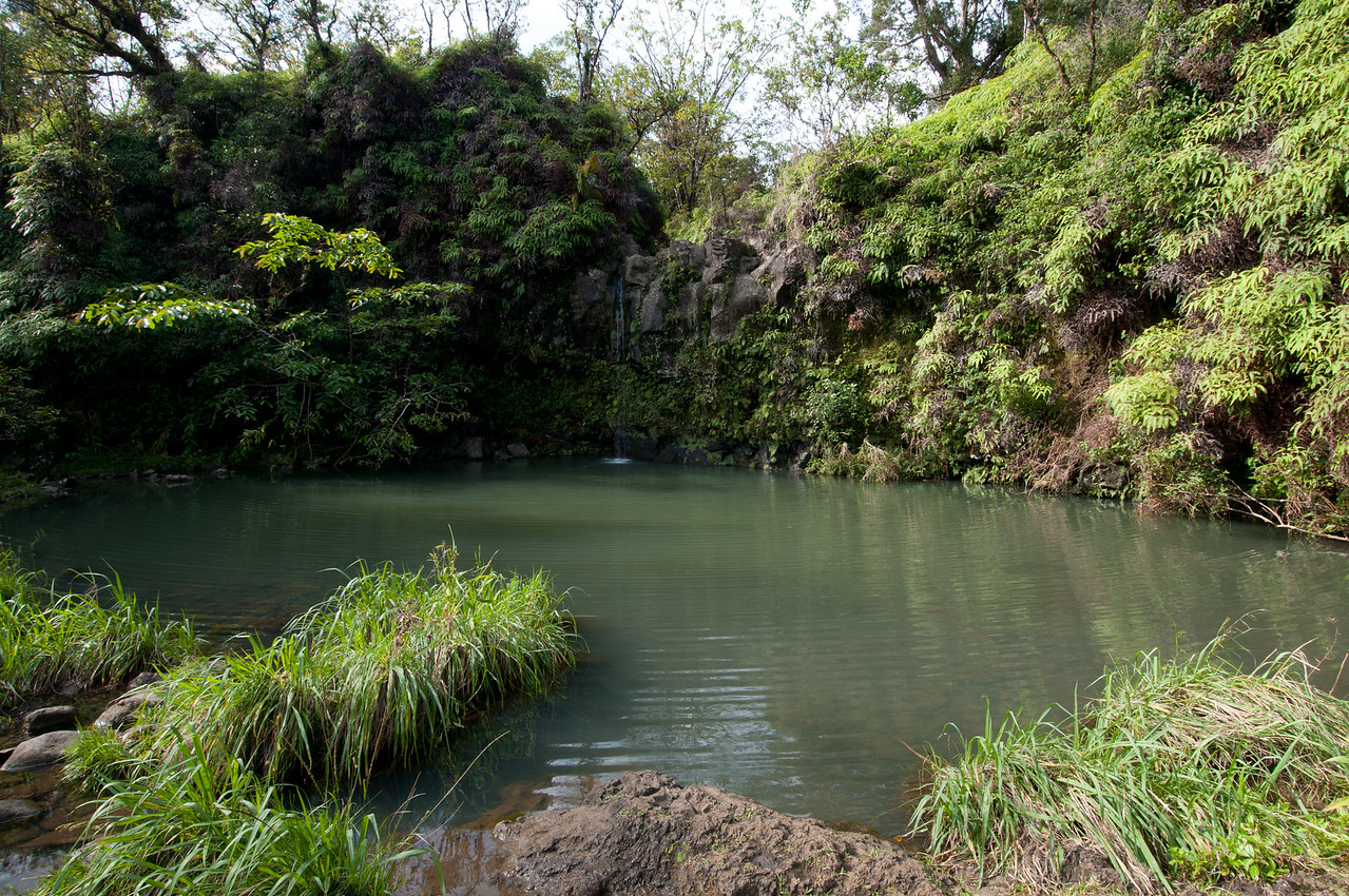 Seven Sacred Pools in Haleakalā National Park, Maui, Hawaii