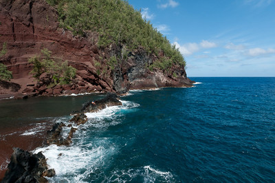 Hana coast in Maui, Hawaii