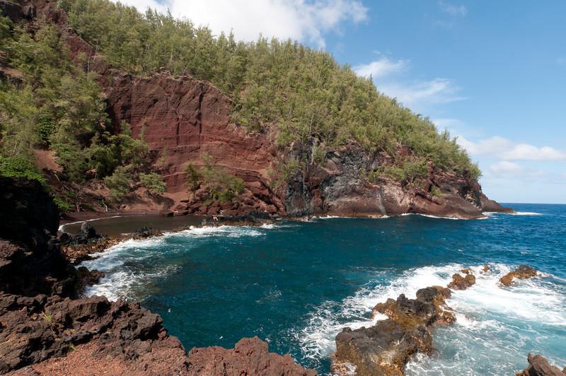 Hana coast in Maui, Hawaii
