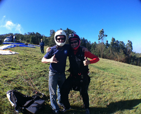 Alberto and his instructor