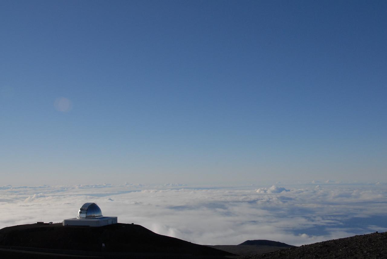 Telescope in Mauna Kea, Hawaii