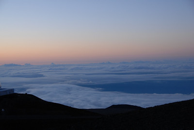 View from the summit of Mauna Kea, Hawaii