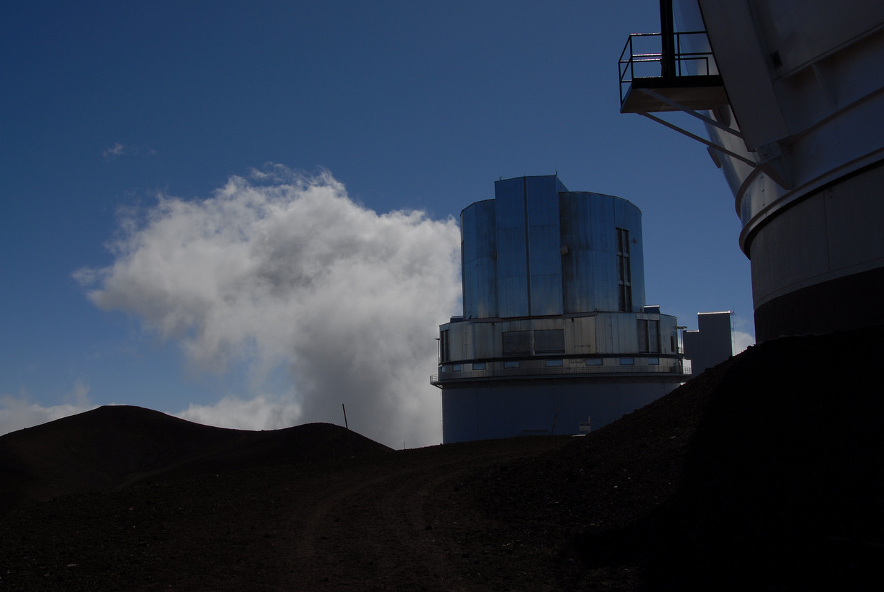 Telescope on top of Mauna Kea, Hawaii