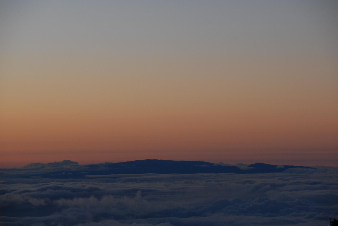 Haleakla from Mauna Kea