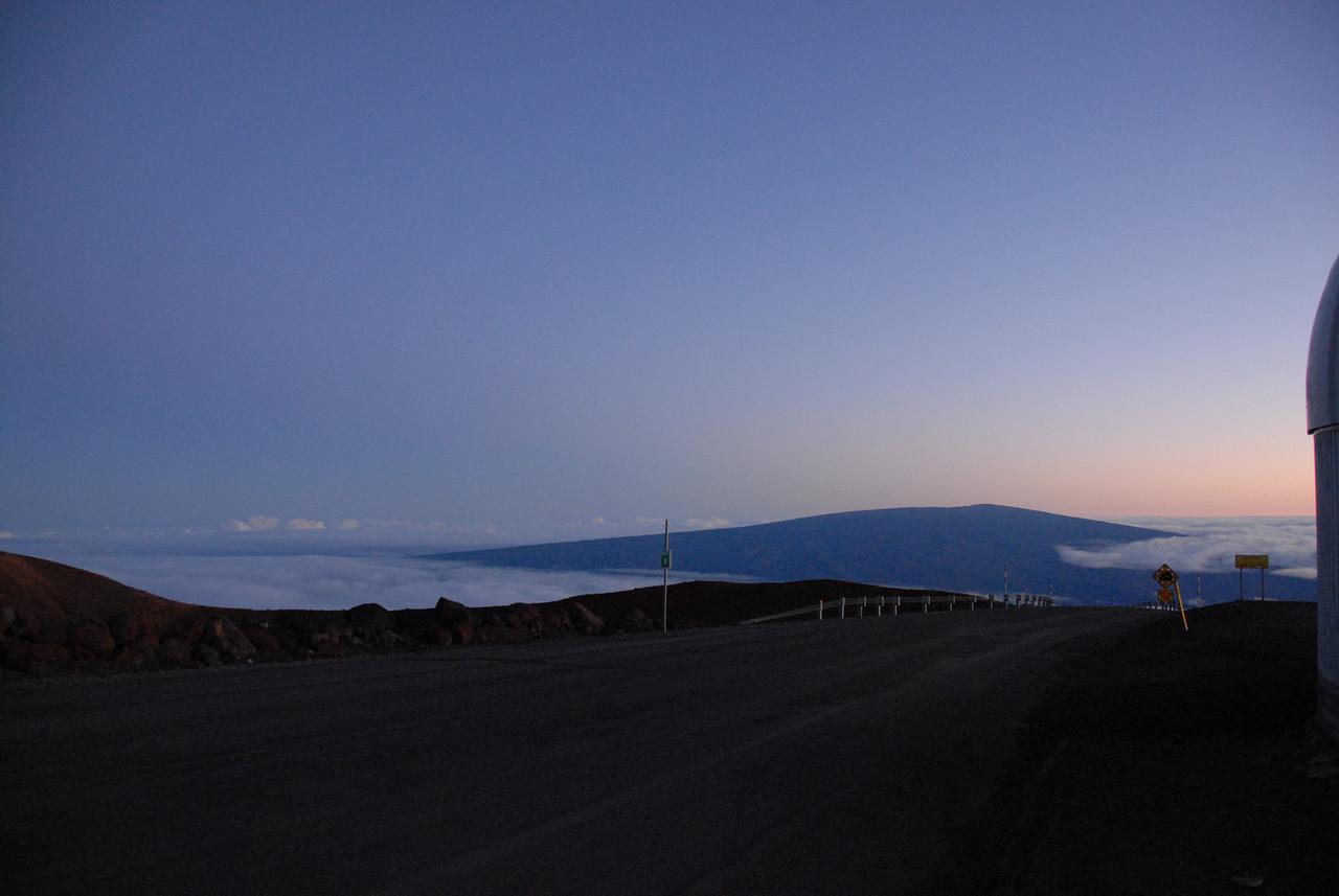 View of Mauna Kea in Hawaii