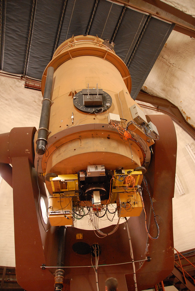 Keck telescope in Mauna Kea, Hawaii