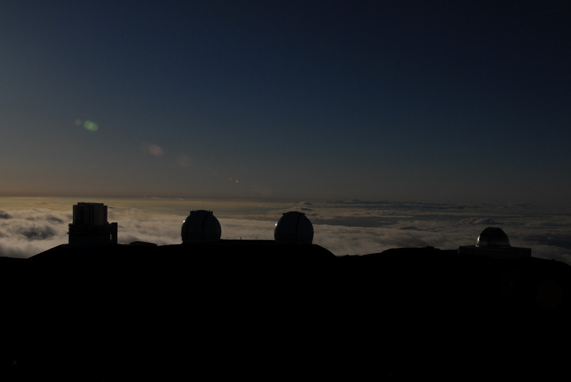 Sunset in Mauna Kea, Hawaii