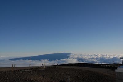 Mauna Loa from Mauna Kea