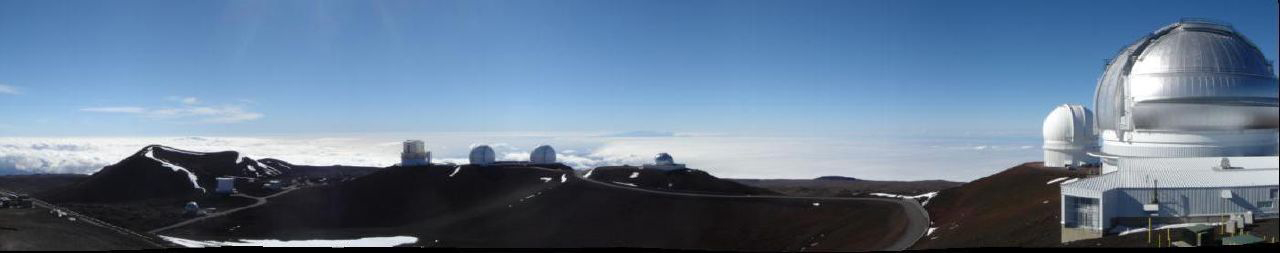 Panorama of Mauna Kea, Hawaii