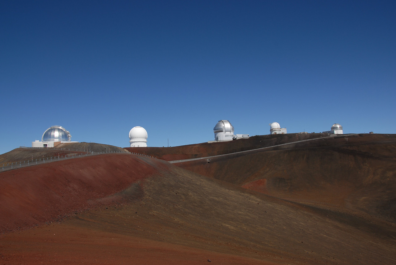 Telescopes in Mauna Kea, Hawaii