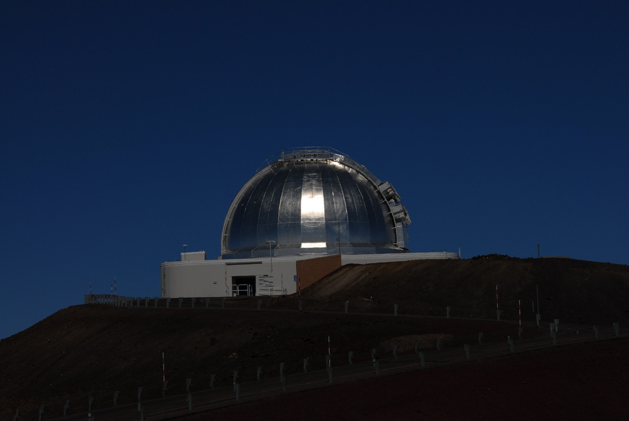 Telescope on top of Mauna Kea, Hawaii