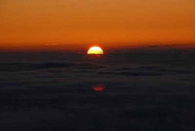 Sunset on Mona Kea