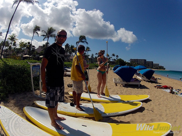 Video: Stand Up Paddleboarding off Kaanapali Beach, Maui – Wild Junket Adventure Travel Blog