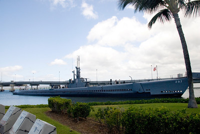USS Bowfin in Pearl Harbor, Hawaii