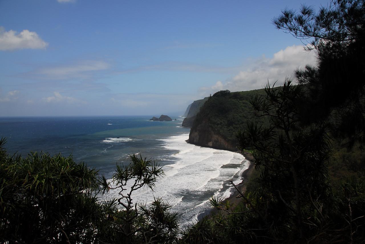Coastal cliffs in Pololu Valley, Hawaii