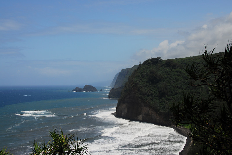 Coastal cliffs near Pololu Valley, Hawaii