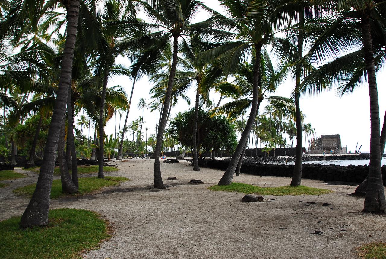 Beach at Puʻukoholā Heiau National Historic Site, Hawaii