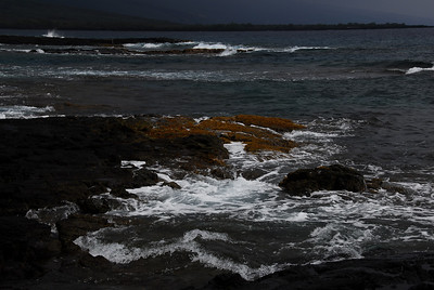 Rocky coast in Puʻukoholā Heiau National Historic Site, Hawaii