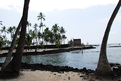 Beach at Puʻukoholā Heiau National Historic Site, Hawaii