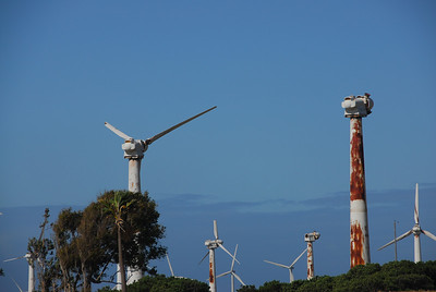 Windmills at South Point, Hawaii
