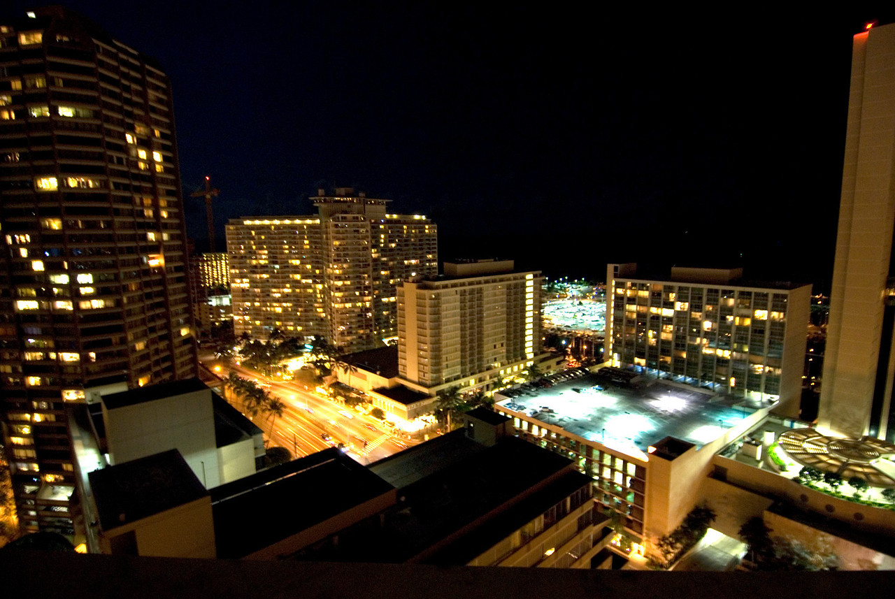 Waikiki Harbor From My Window