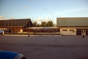 The Tarawa Airport where I was denied entry