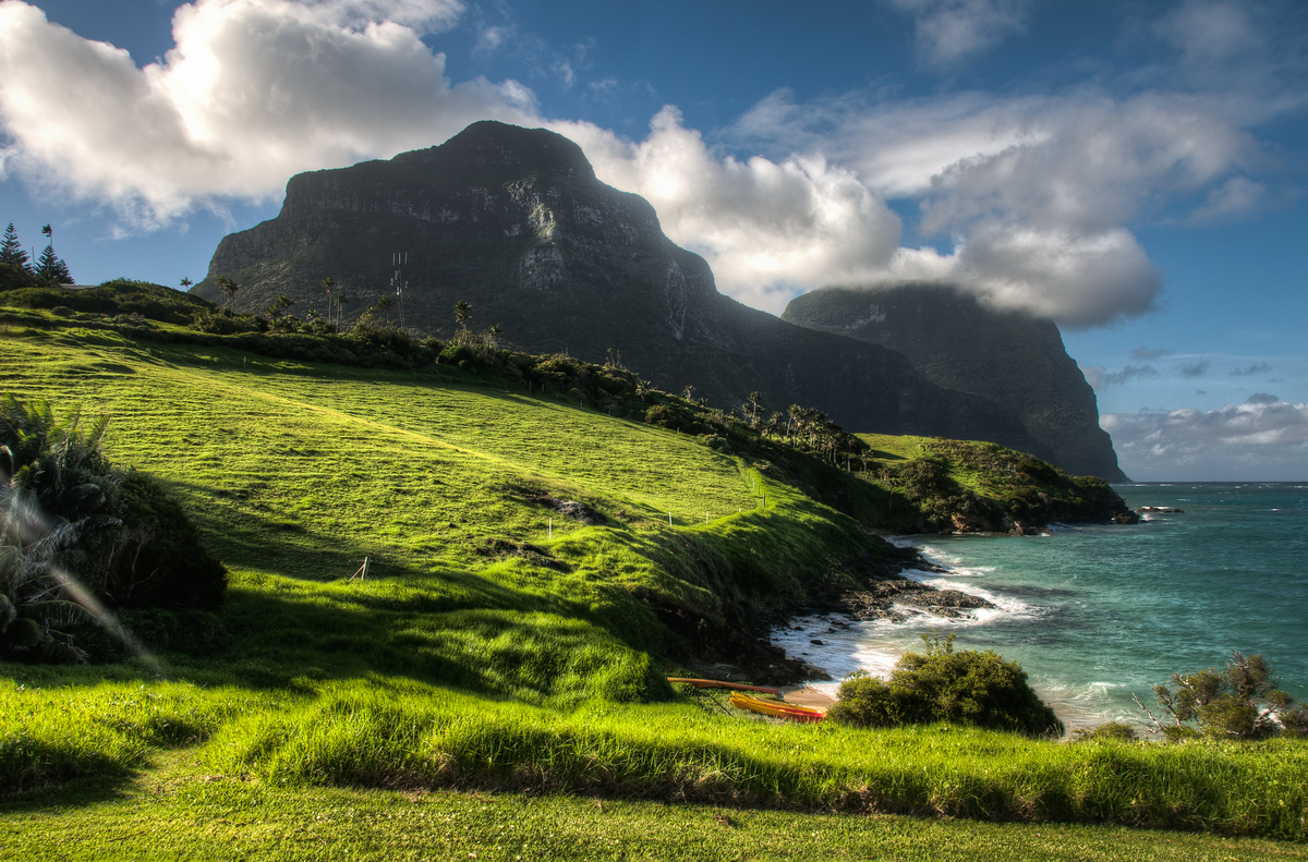 UNESCO World Heritage Site #176: Lord Howe Island Group