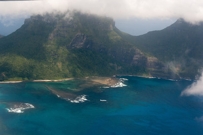 Seascape in Lord Howe Island, Australia