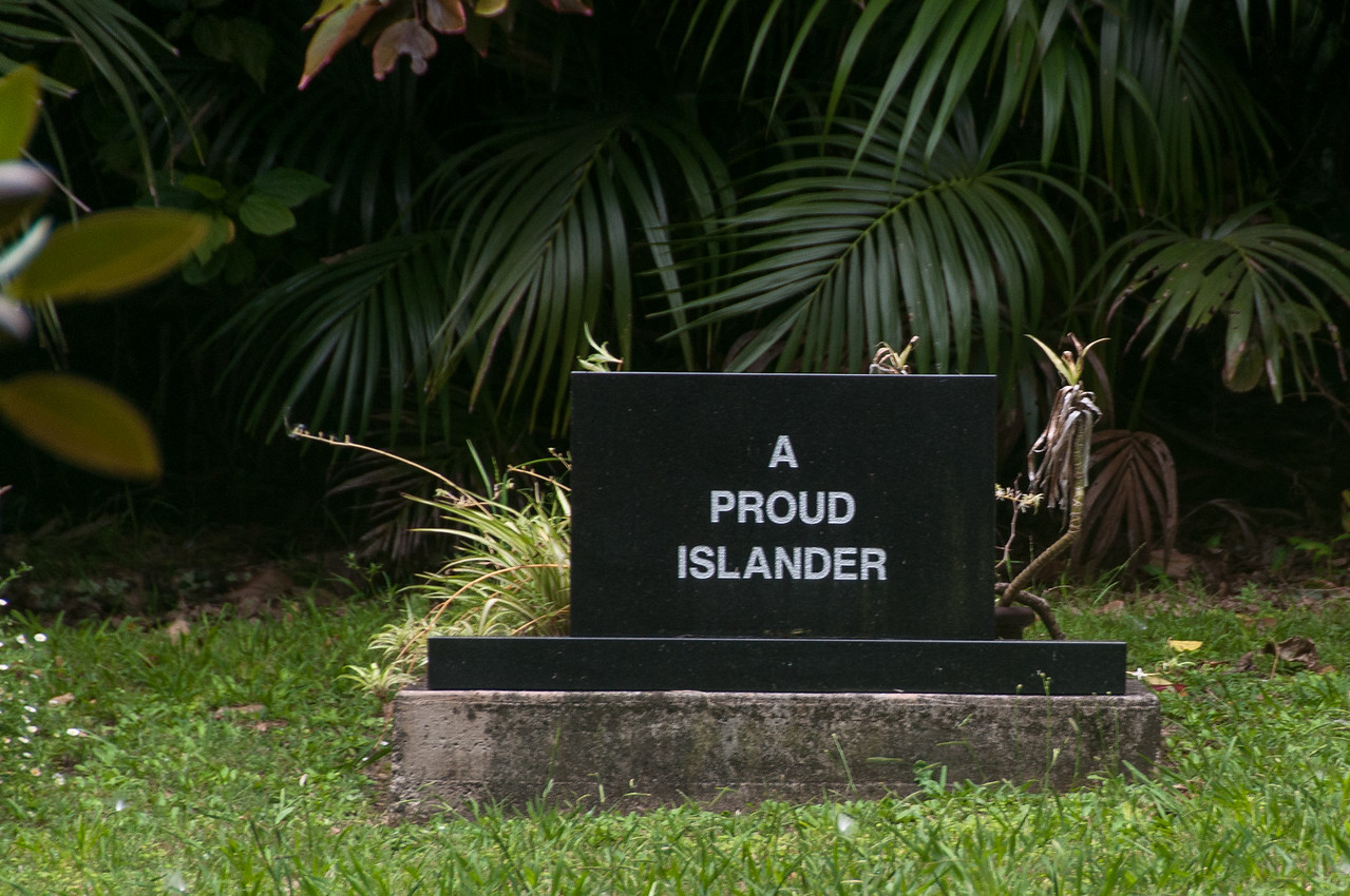 Monument in Lord Howe Island