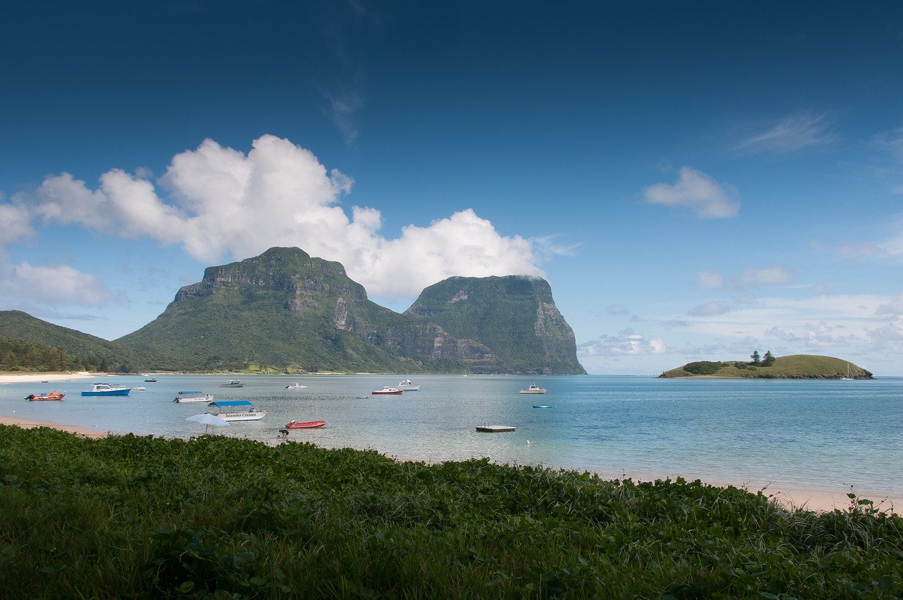 Lord Howe Island UNESCO site