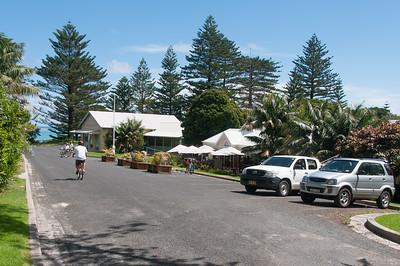 Street scene in Lord Howe Island