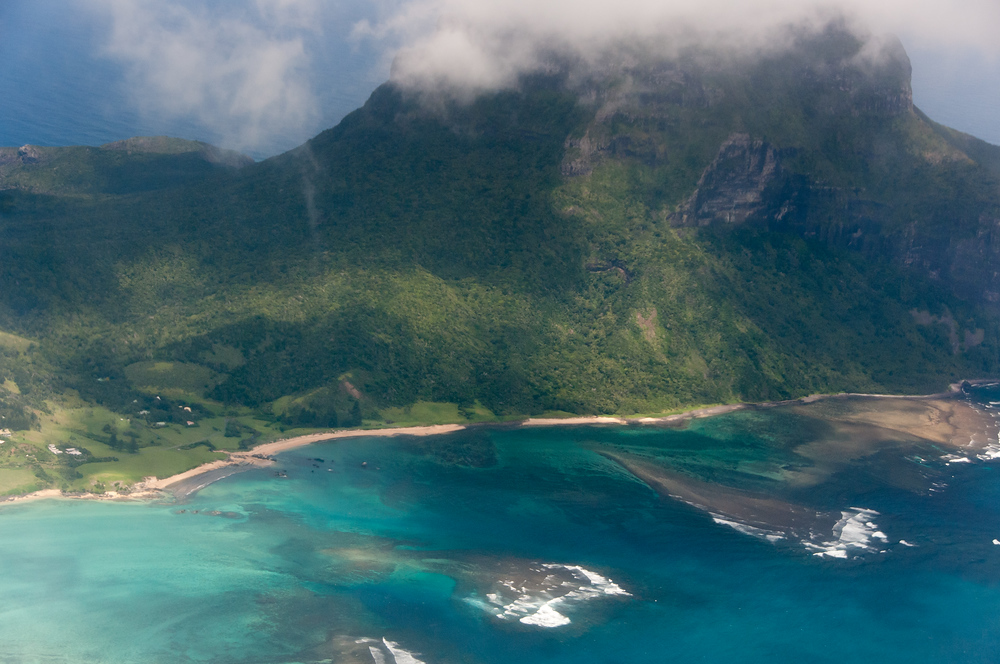 Aerial View of Lord Howe Island