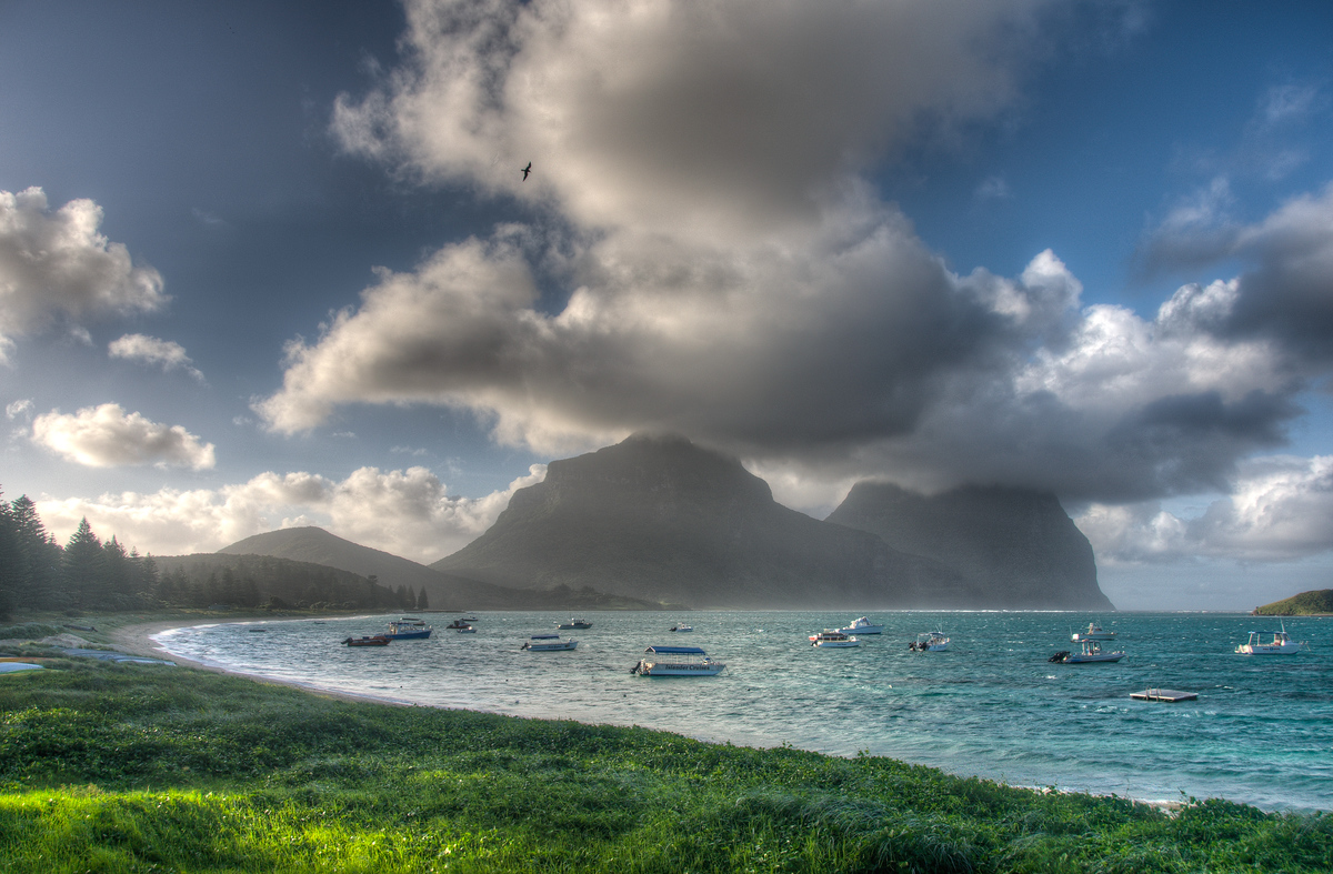 The Lagoon of Lord Howe Island