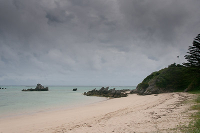 White sand beach in Lord Howe Island