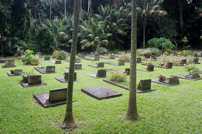 Cemetery in Lord Howe Island