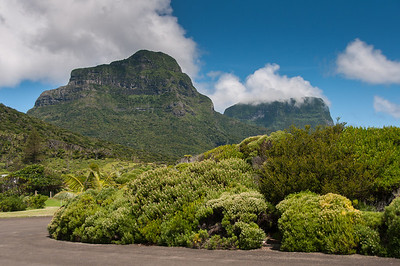 Mount Gower and Mount Lidgbird in Lord Howe Island