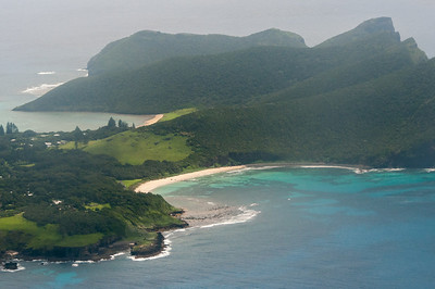 View of North Bay in Lord Howe Island