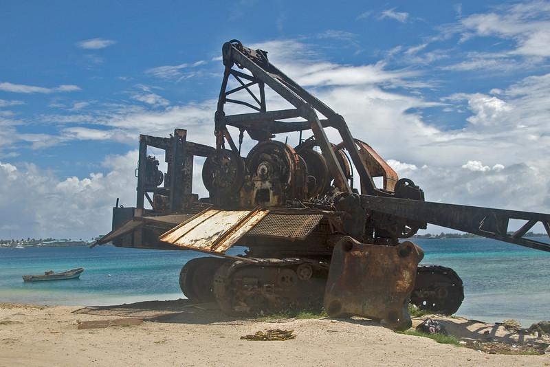 Abandoned Steam Shovel - Majuro