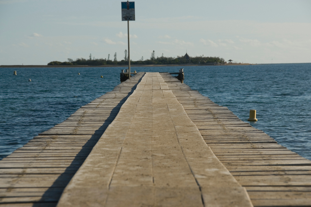 Dock in Noumea, New Caledonia