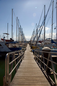 Boats in Dock - New Caledonia