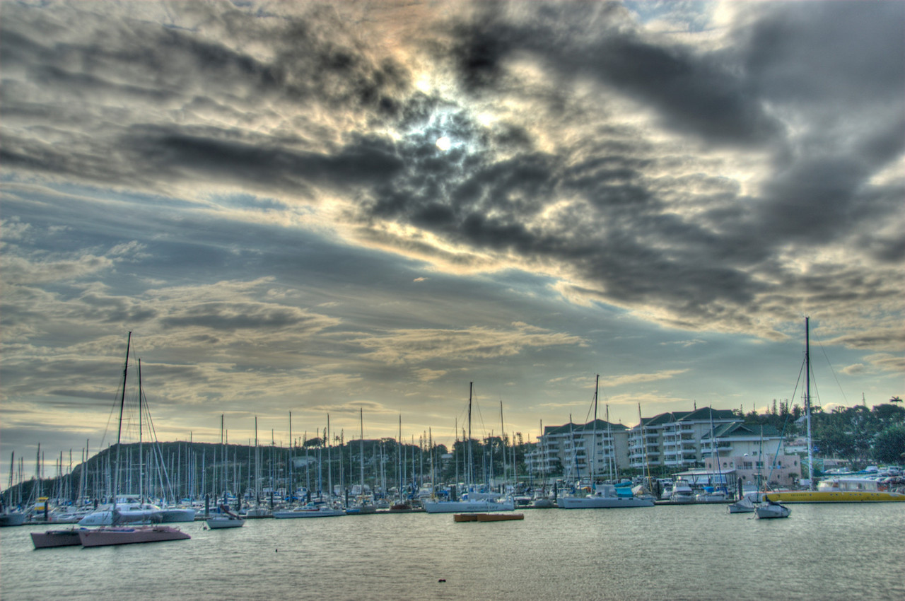 New Caledonia Harbor HDR
