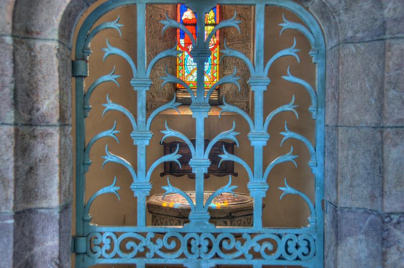 St. John's Church Baptisim Font - New Caledonia