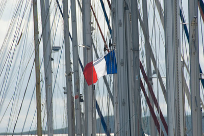 French Flag Sailboat - New Caledonia