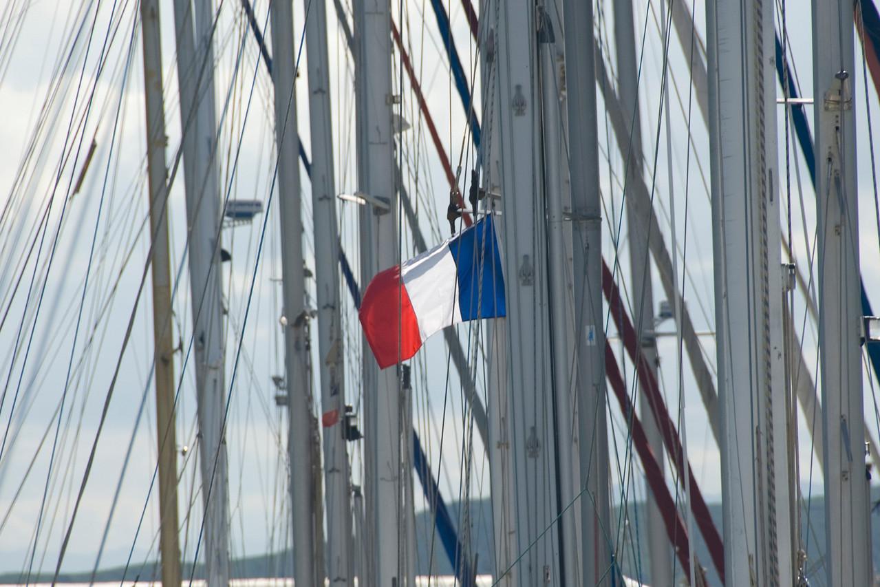 French Flag Sailboat - New Caledonia