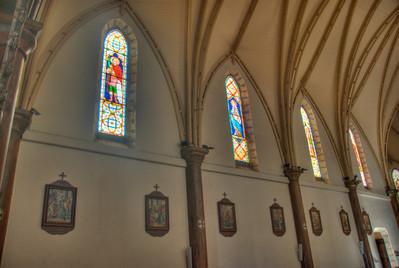 Stained Glass, St. Josephs - New Caedonia