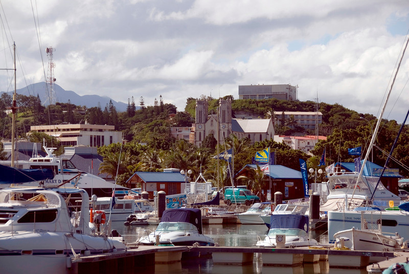 New Caledonia, a former french colony