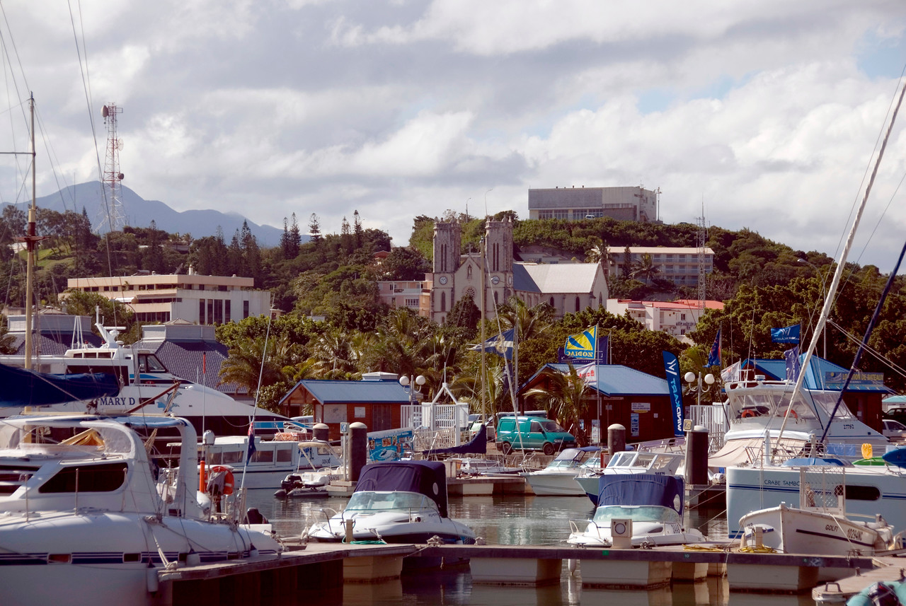 St Josephs and Harbor - New Caledonia