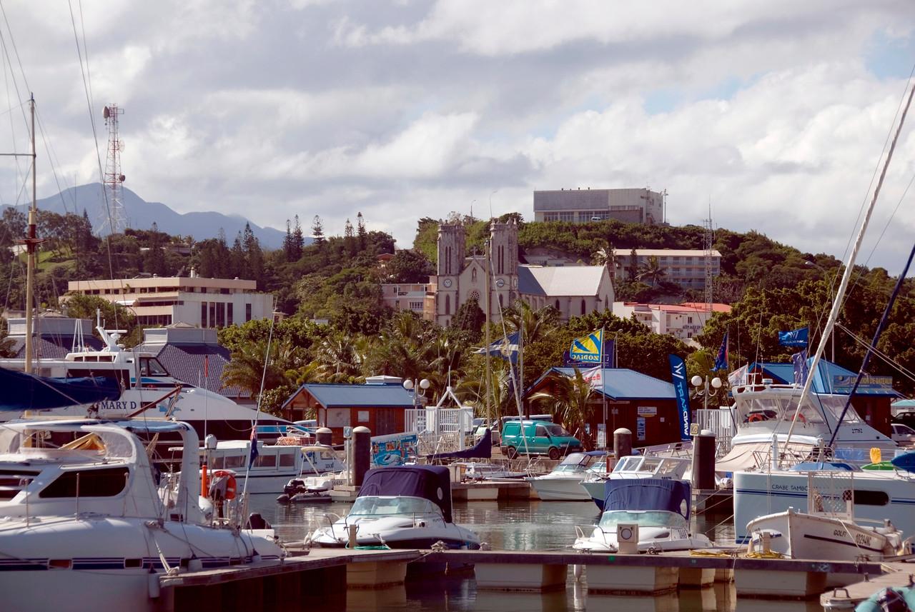 St Josephs and Harbor - New Caledonia